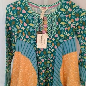 Matilda Jane Clothing Pretty Fall Print Shirt